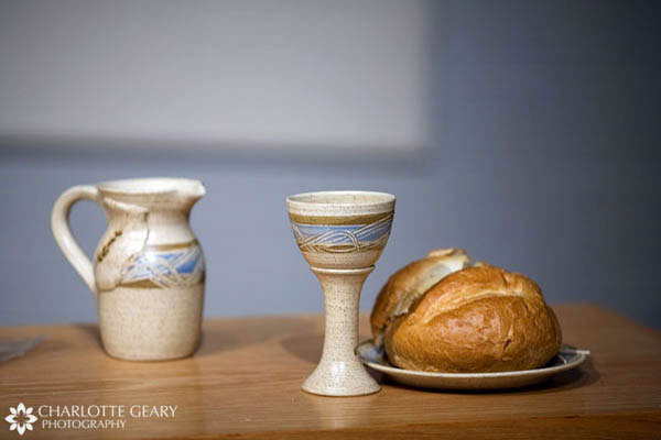Heirloom communion dishes