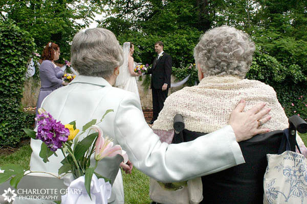 Mother and grandmother of the bride
