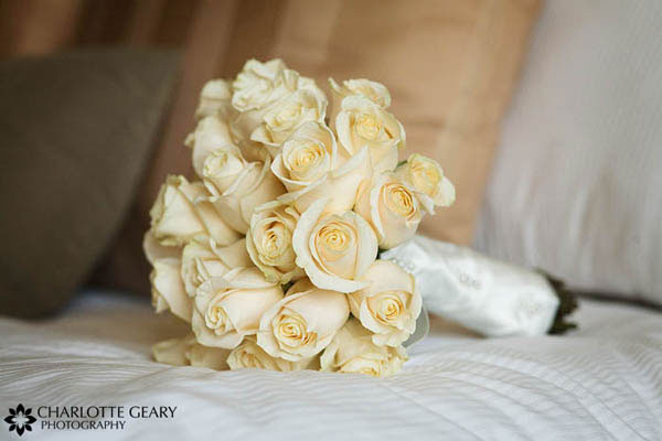 Light yellow rose bouquet